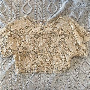 Crochet Beach Crop Top